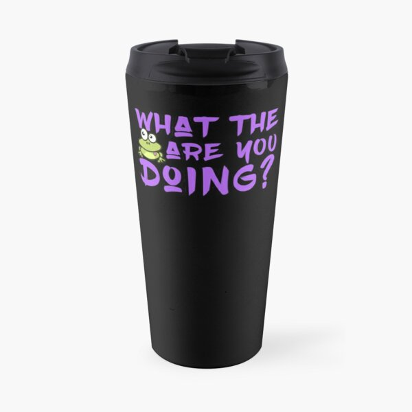 'What The Frog Are You Doing' Travel Mug by tw2us