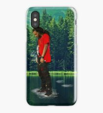 you can walk on water don't look down iPhone Case