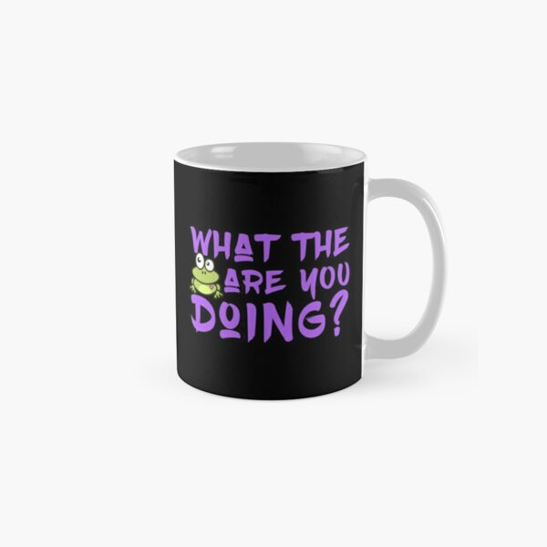 'What The Frog Are You Doing' Mug by tw2us