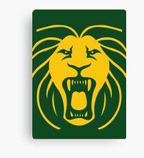 Les Lions Canvas Print