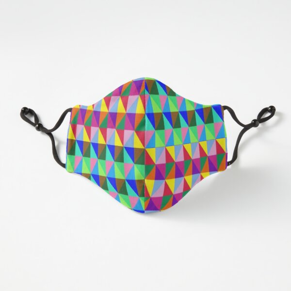 Fitted Masks, Trippy iLLusion Fitted 3-Layer