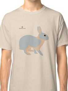 lilac tan rabbit Classic T-Shirt