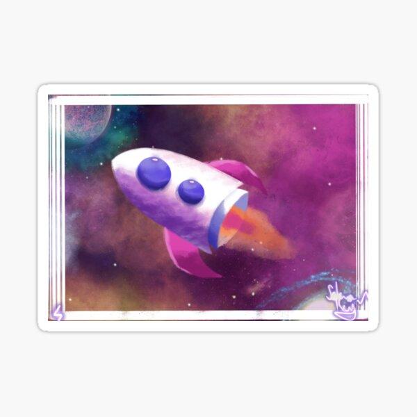 Fusée spatiale Sticker