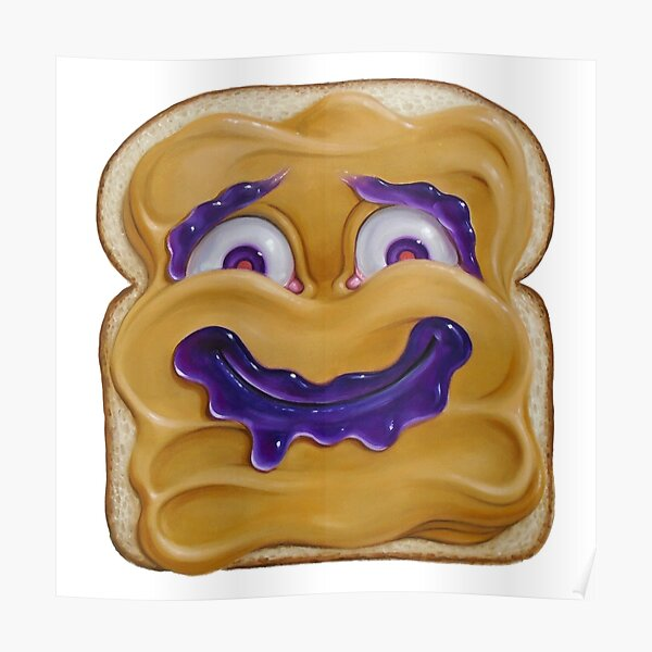 Happy Peanut Butter Poster