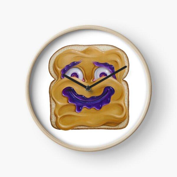 Happy Peanut Butter Clock
