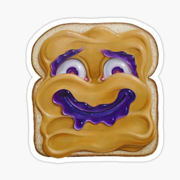 Happy Peanut Butter Sticker