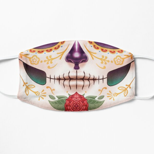 Sugar Skull Flat Mask