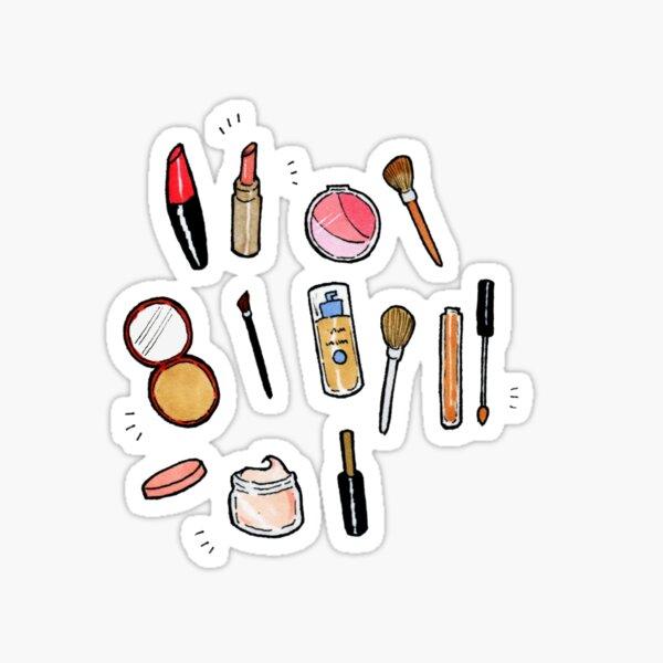 Makeup gal Sticker