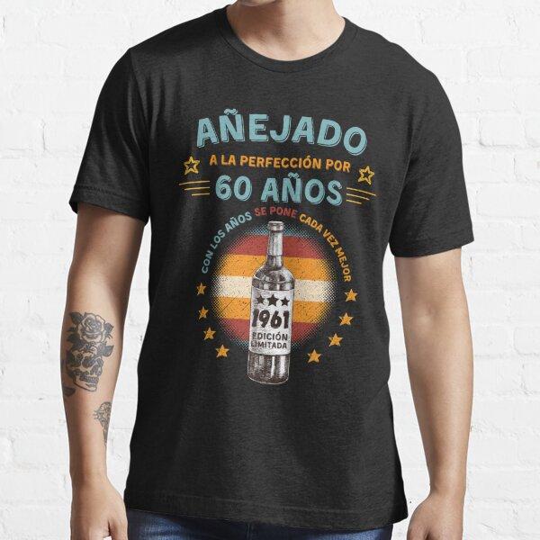 Nacido en 1961 60 Años Cumpleaños Regalo de 60 Años Camiseta esencial