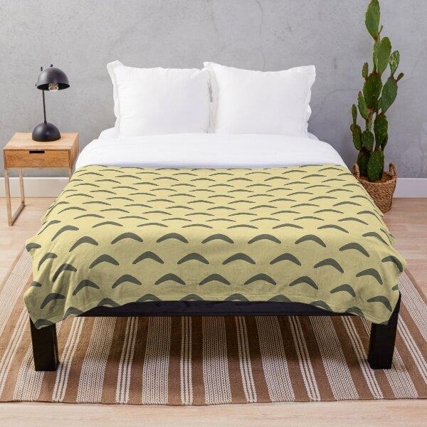 Minimal Pattern Throw Blanket