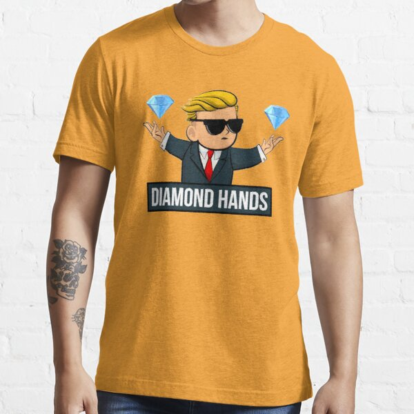 Diamond Hands - WallStreetBets Tendies Funny Essential T-Shirt