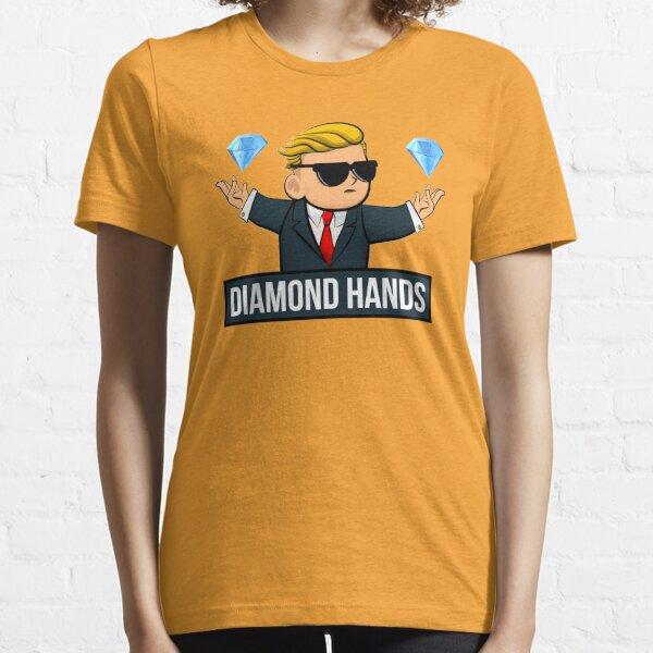 Diamond Hands - WallStreetBets Tendies Drôle T-shirt essentiel