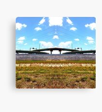 Highway Sunrise Canvas Print