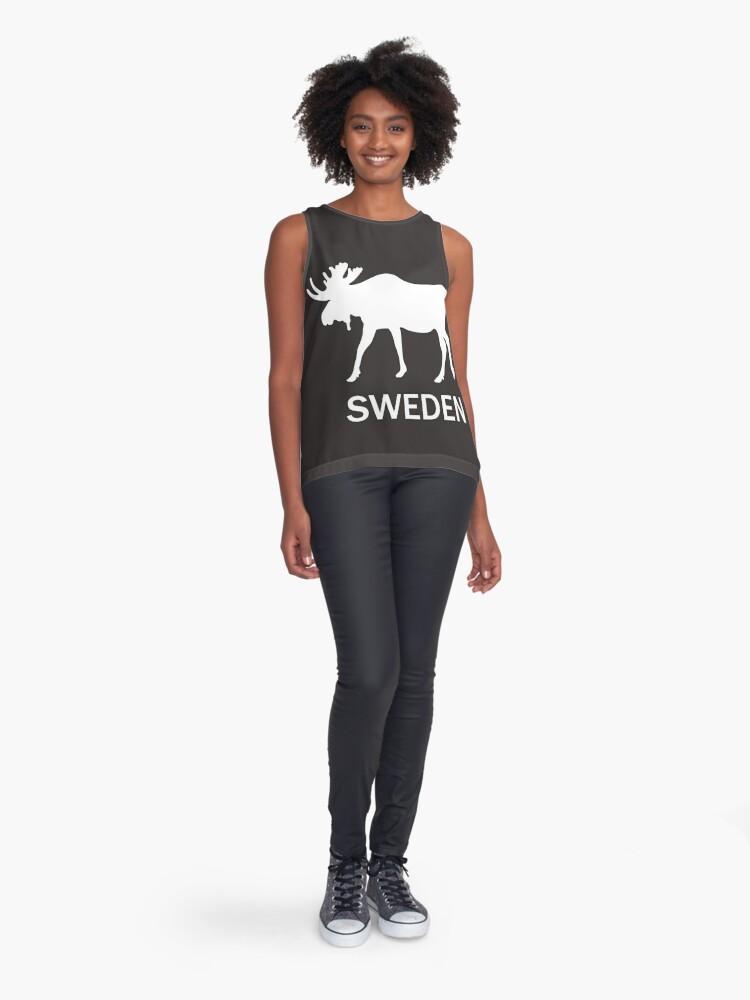 Alternate view of sweden Sleeveless Top