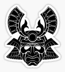 Samurai Mask 2 Sticker