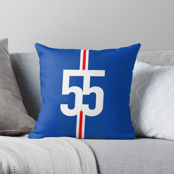 Rangers FC - 55 Champions Throw Pillow