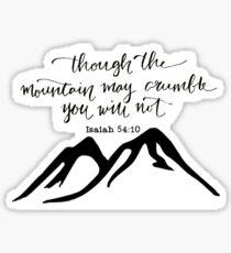 Isaiah 48:10 Sticker