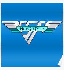 Ninja Sex Party/Van Halen Poster