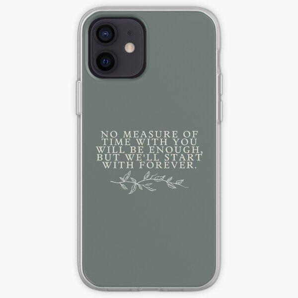 Empezaremos con la cita de Forever Twilight Funda blanda para iPhone