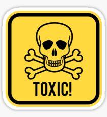 Toxic! Sticker