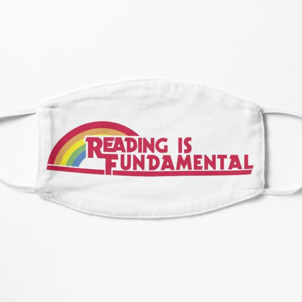 Reading is Fundamental Flat Mask