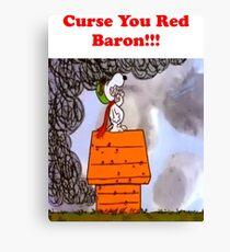 Curse you Red Baron! Canvas Print