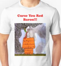 Curse you Red Baron! Unisex T-Shirt