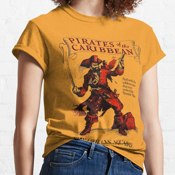 New Orleans Square Pirates of the Caribbean  Classic T-Shirt