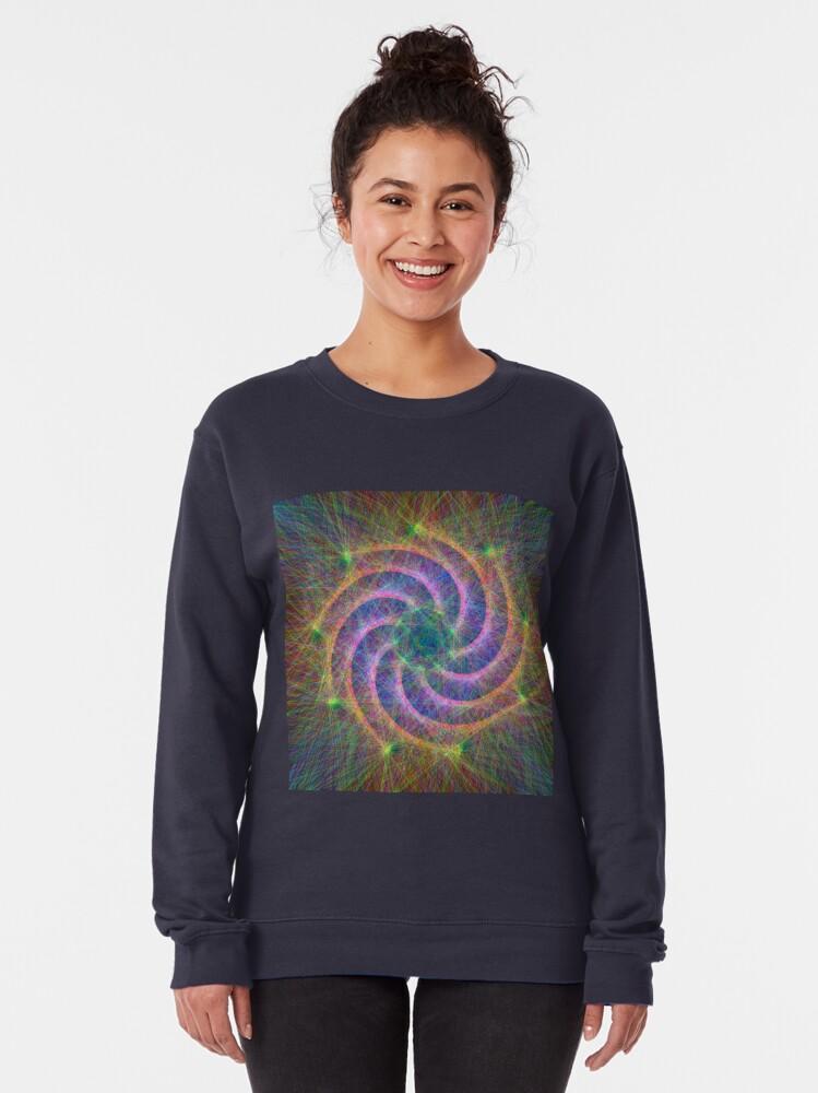 Alternate view of Optical lines Pullover Sweatshirt