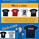 Men's t shirts by colorcontacts