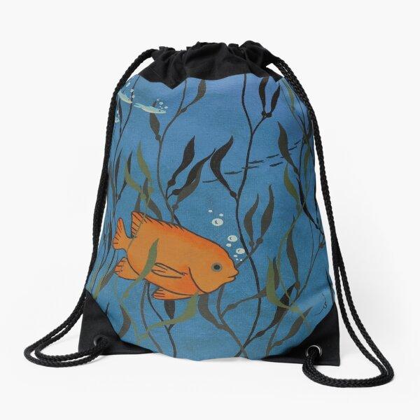 Gary the Garibaldi Drawstring Bag