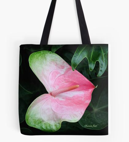 The Anthurium Flower ~ A History Tote Bag