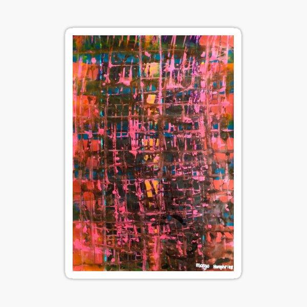 Scrambled by Margo Humphries Sticker