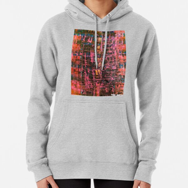 Scrambled by Margo Humphries Pullover Hoodie