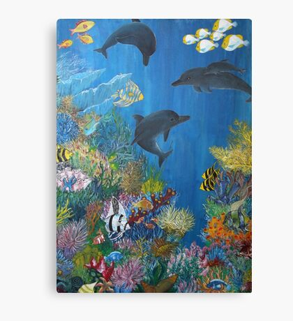 Aquatic 1 Canvas Print
