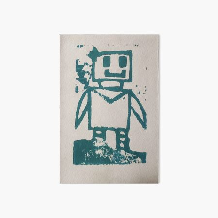Robo Lady Art Board Print