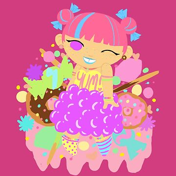 Chubby Princess in Candy! by gunkers