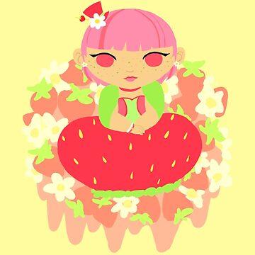 Chubby Princess in Strawberries! by gunkers