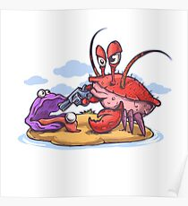 crab robber Poster