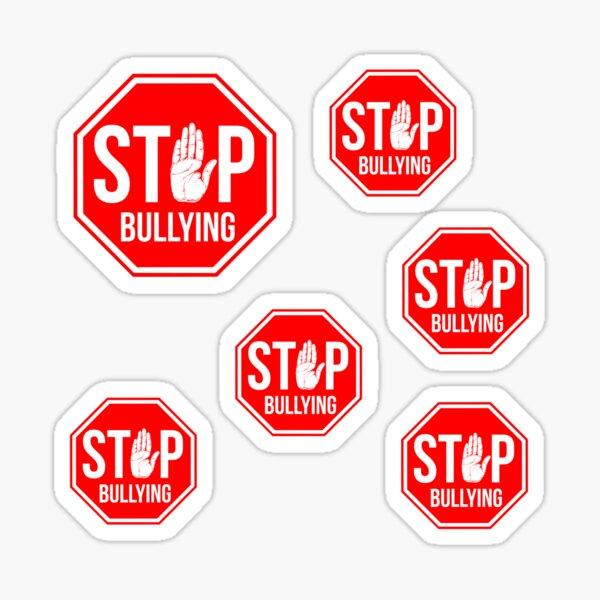 Stop bullying anti bullying invitational Motivation bullying awareness Sticker