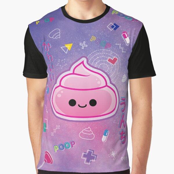 Colorful Poop - Purple version T-shirt graphique