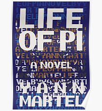 Life of Pi - Book Cover Design Poster