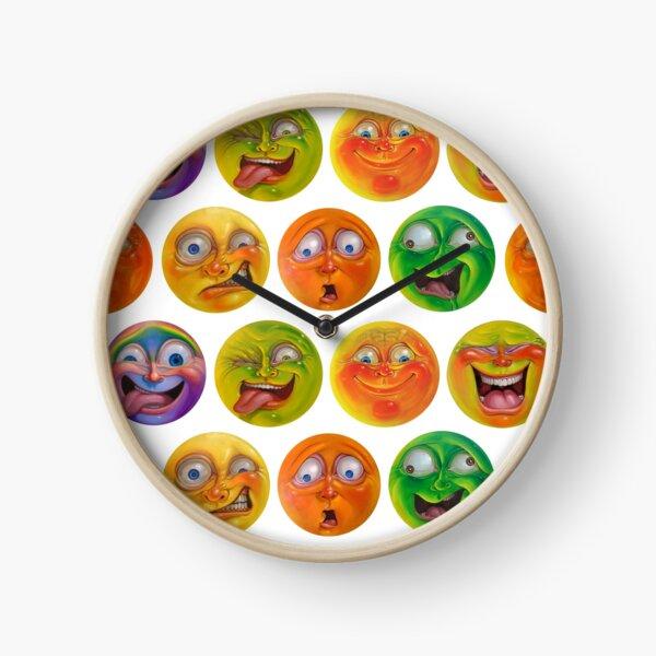 Jelly heads Clock