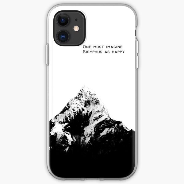 One Must Imagine Sisyphus as Happy iPhone Soft Case