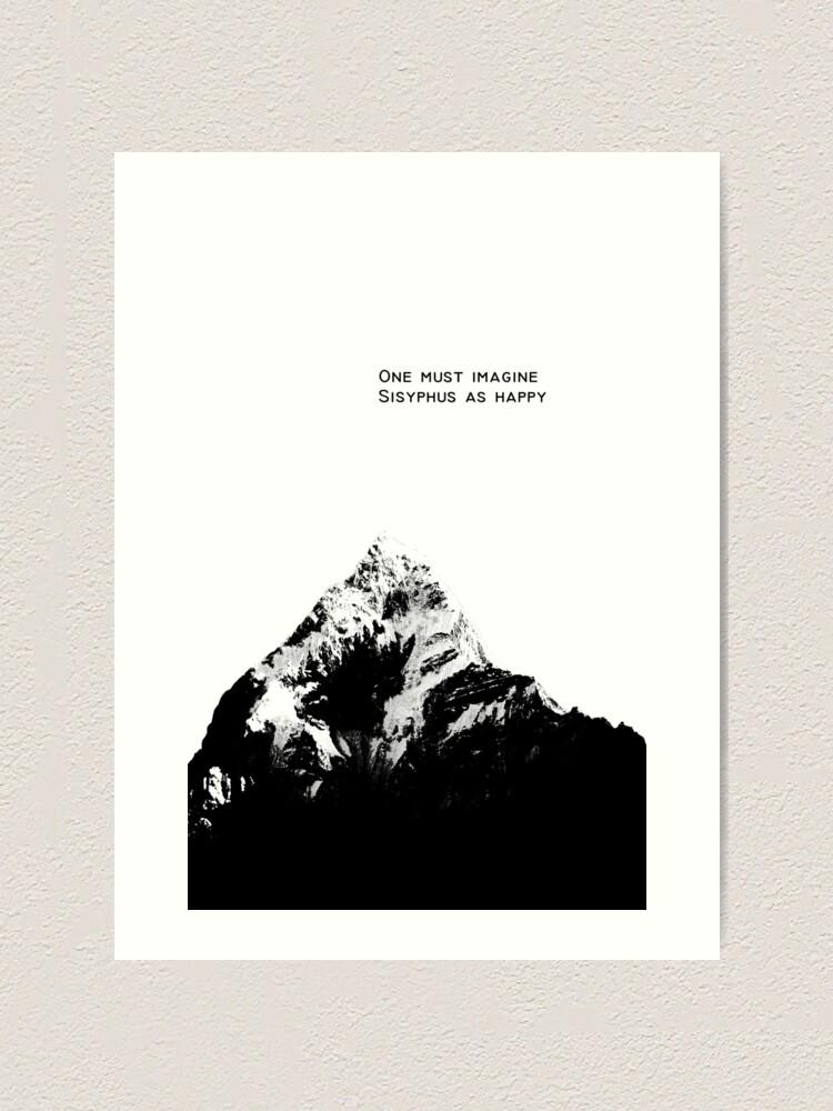 One Must Imagine Sisyphus Happy Albert Camus