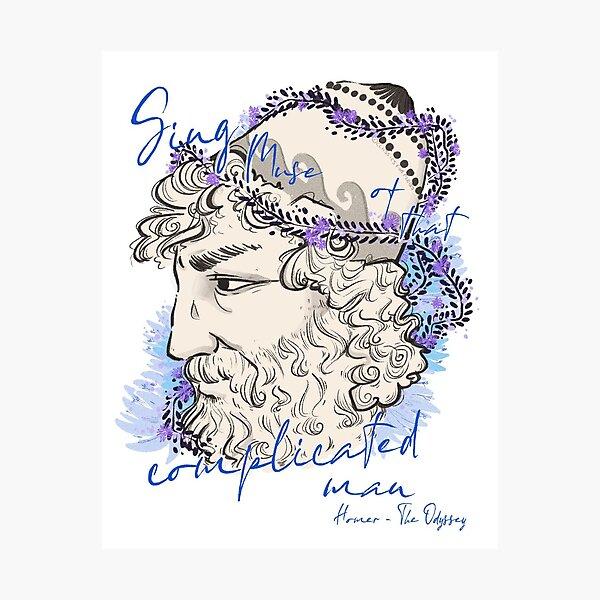 Odysseus (Botanical) Photographic Print