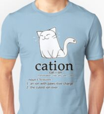 Cat-ion science puns Unisex T-Shirt