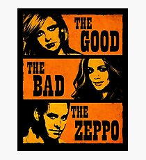 The Good The Bad The Zeppo Photographic Print