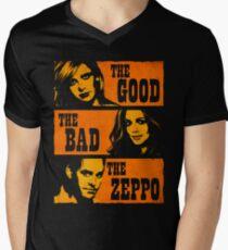 The Good The Bad The Zeppo Men's V-Neck T-Shirt