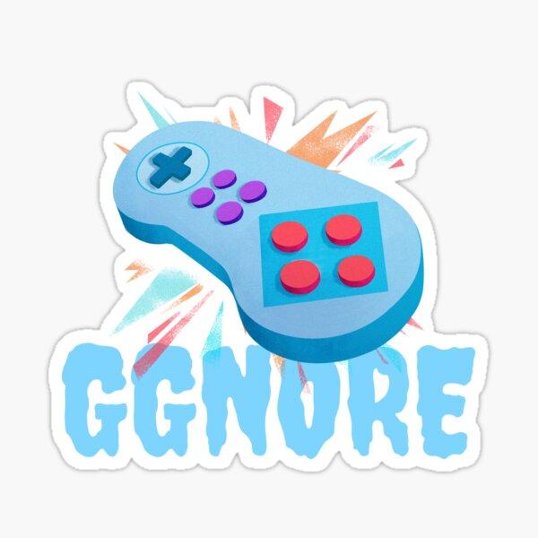 GG NO RE. Sticker